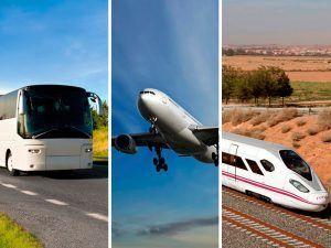 ¿Avión, tren o bus? Cual elegir